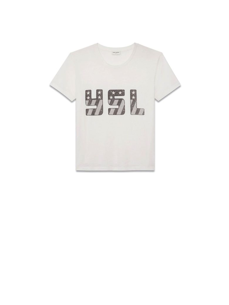 T-SHIRT IN OFF-WHITE JERSEY