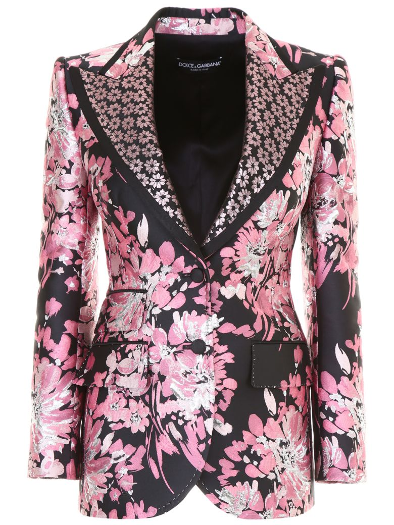 Floral Brocade Jacket in Pink