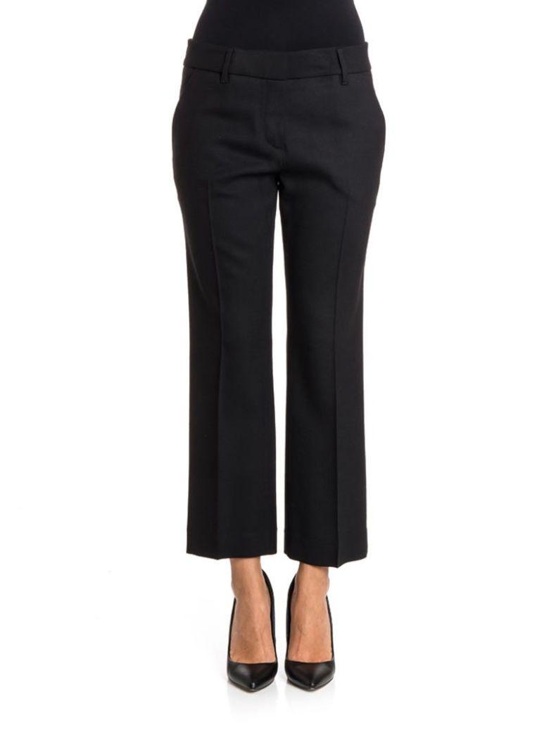 TRUE ROYAL - Wool Trousers in Black
