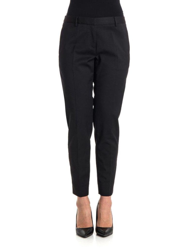 NEWYORKINDUSTRIE Cotton Trousers in Black