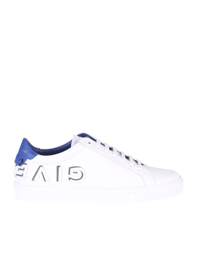 Urban Street White And Blue Reverse Sneakers