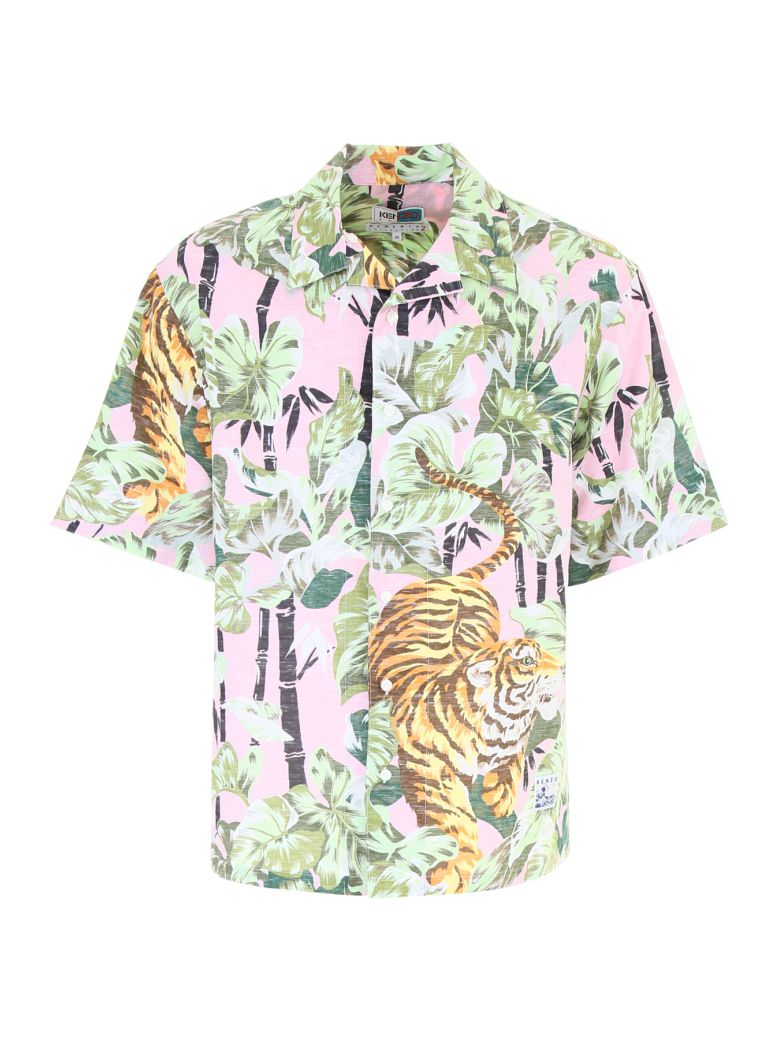 400f804e9 Kenzo Hawaiian Print Shirt In Multicolour | ModeSens
