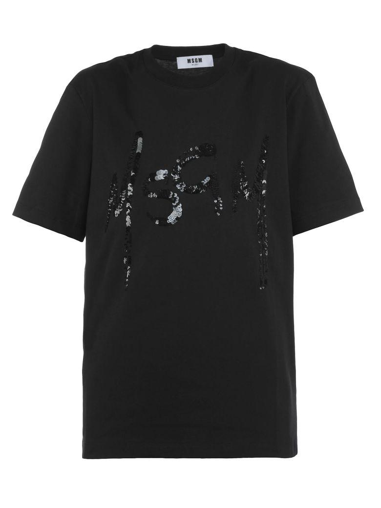 Cotton T-Shirt in Black