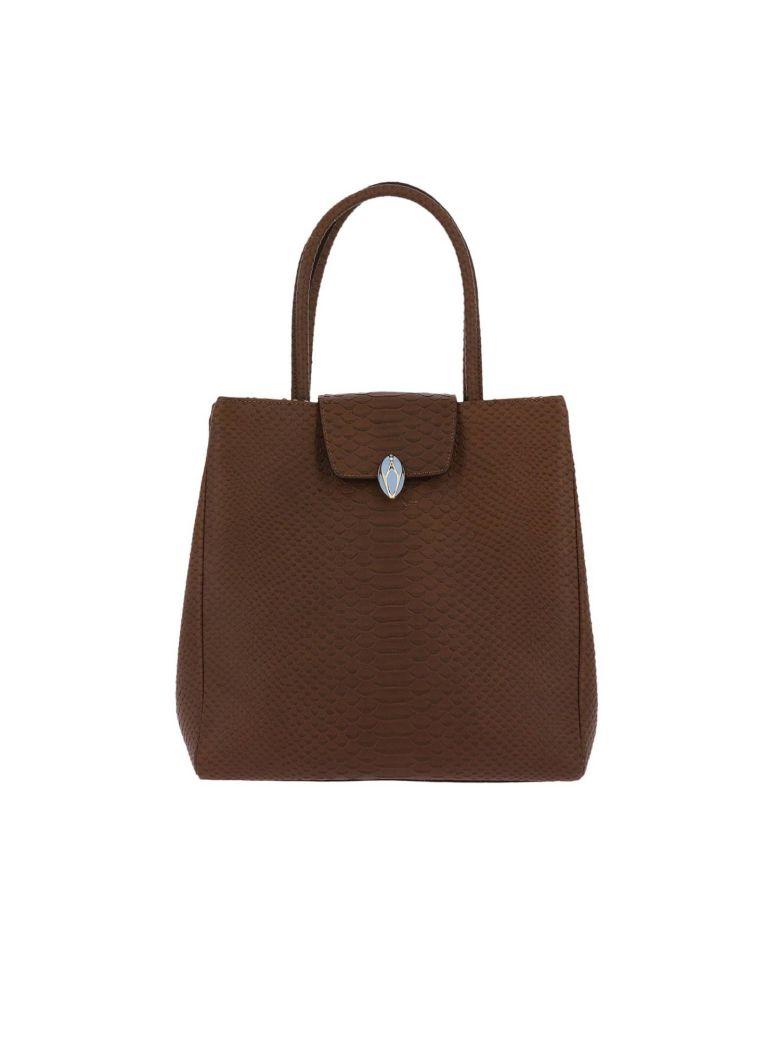F.E.V. BY FRANCESCA E. VERSACE F.E.V. By Francesca E. Versace Handbag Shoulder Bag Women F.E.V. By Francesca E. Versace in Brown