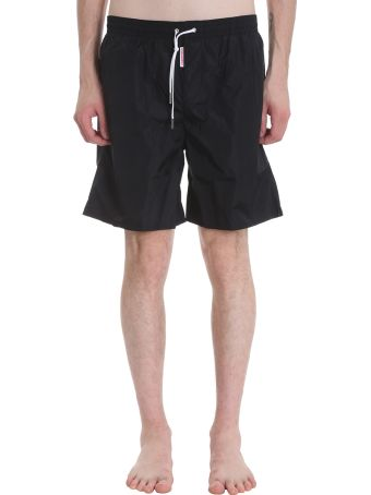 Dsquared2 Black Nylon Swimsuit