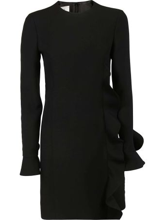 Valentino Ruffle Trimmed Dress