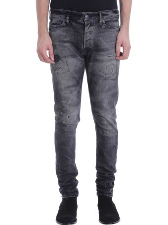 John Elliott Black Denim Jeans