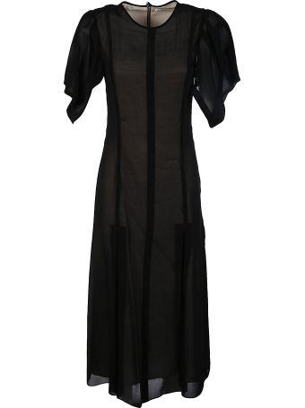 Victoria Beckham Wide Sleeve Dress