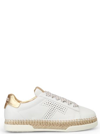 Tod's Logo Perforated Sneakers