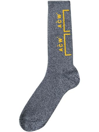 A-COLD-WALL Bracket Logo Cotton Socks