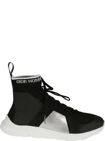 Dior Homme Lace-up Hi-top Sneakers