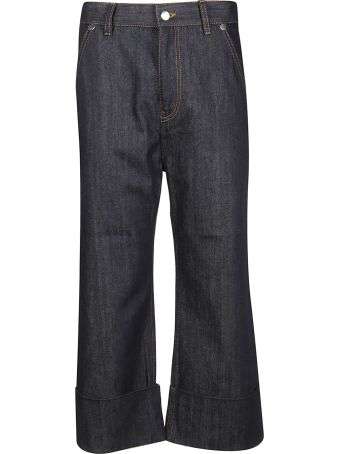 Sofie d'Hoore Overfit Cropped Jeans