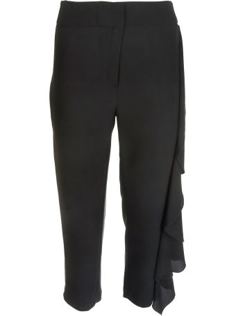 Shirt a Porter Ruffled Trousers