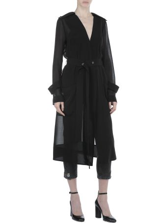 Victoria Beckham Sheer Coat