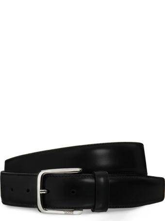 Tod's Brushed Leather Belt