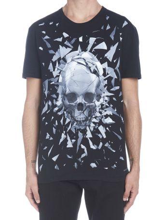 Alexander McQueen 'skull Broken Glass' T-shirt