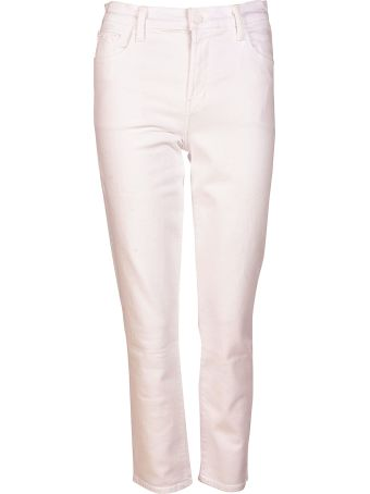 J Brand High-waisted Cropped Jeans