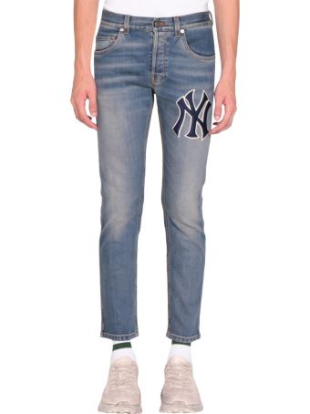 Gucci Ny Yaknees Denim Cotton Jeans