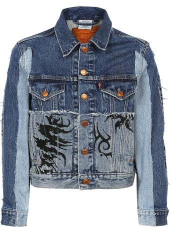 VETEMENTS - Tribal Denim Jacket