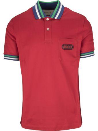 Gucci Logo Patch Polo Shirt