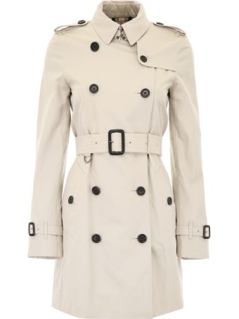 Burberry Short Kensington Trench Coat