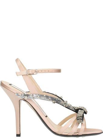N.21 Embellished Strappy Sandals