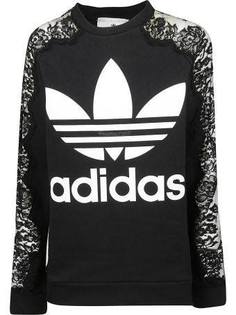 Stella McCartney Adidas By Stella Mccartney Lace Detail Sweatshirt