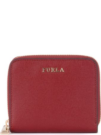 Furla Babylon Cherry Red Leather Wallet