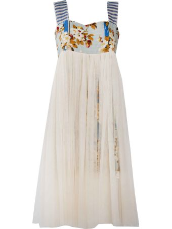 SEMICOUTURE Layered Tulle Dress