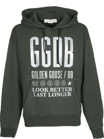 Golden Goose Logo Hoodie