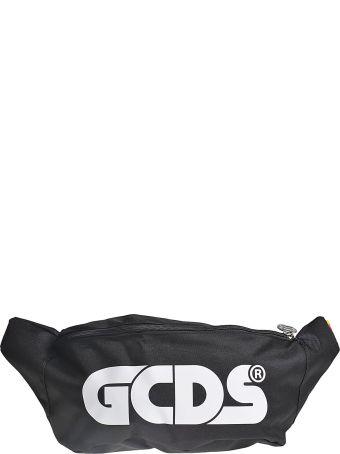 GCDS Logo Printed Belt Bag