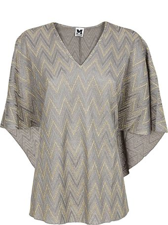 M Missoni Zigzag Patterned Blouse