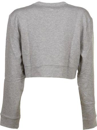 Moncler Gamme Rouge Sheer Logo Patch Sweatshirt