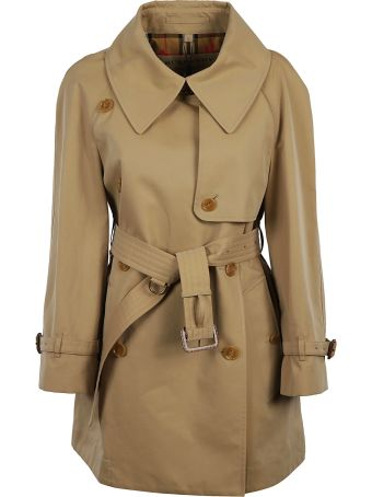 Burberry Tartan Lining Trench Coat
