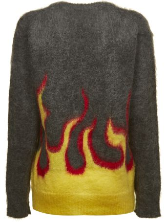 Prada Knitted Flaming Sweater