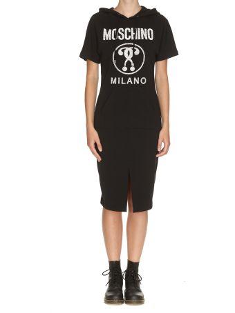 Moschino Moschino Milano Hooded Dress