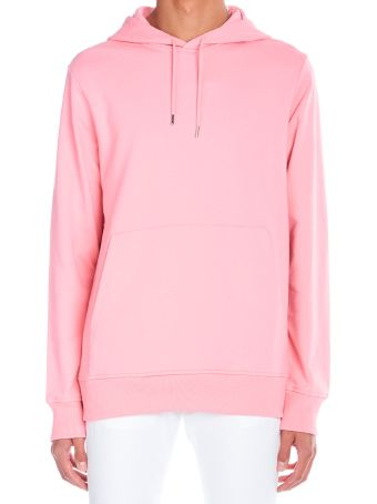 Helmut Lang 'pink Project' Hoodie