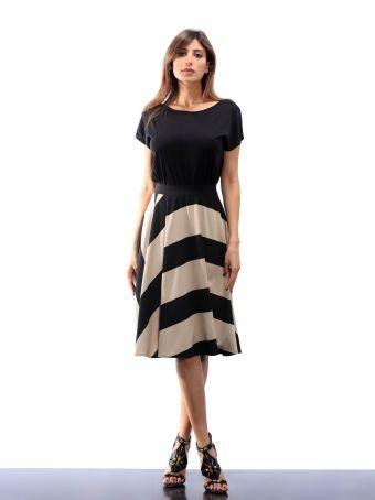 Altalana A Line Skirt Punto Milano 29-stripe