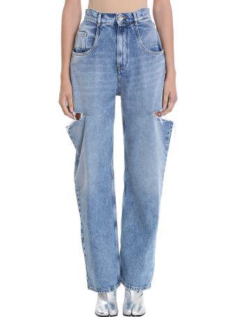 Maison Margiela Cut Out Jeans