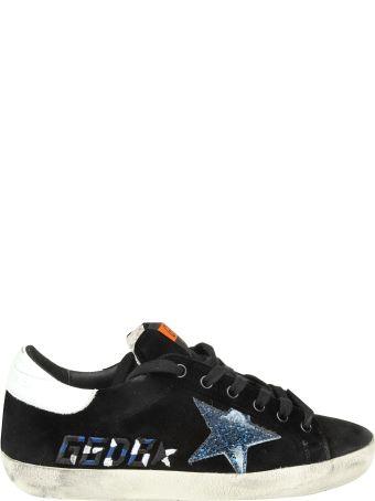 "Golden Goose Sneakers ""superstar"" In Velvet Color Black"