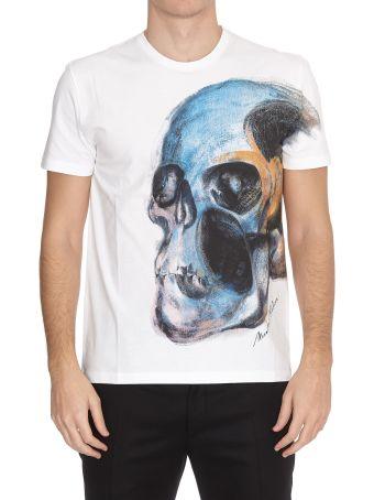 Alexander McQueen T-shirt Oanited Skull