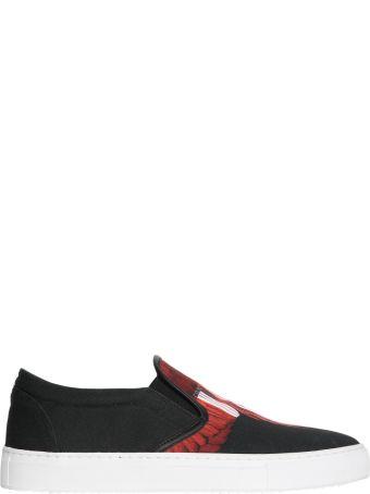 Marcelo Burlon Wings Barcode Slip-on Sneakers
