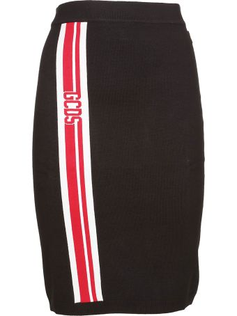 GCDS Fitted Skirt