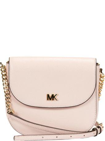 Michael Michael Kors Embossed Logo Shoulder Bag
