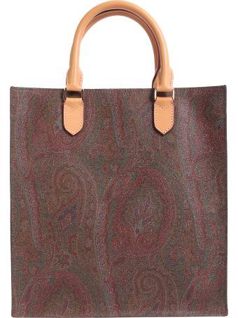 Paisley Printed Shopping Bag