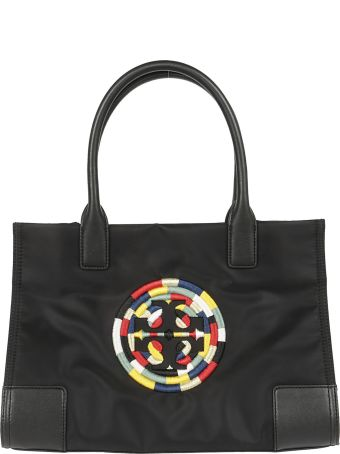 Tory Burch Embroidered Logo Tote