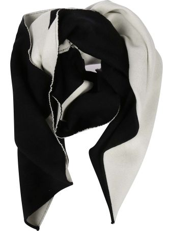 Valentino Contrast Detail Scarf