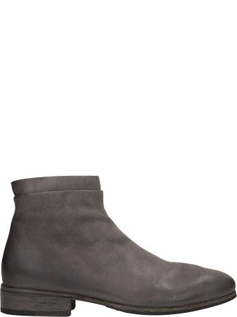 Marsell Beige Suede Boots