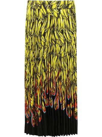 Prada Printed Long Skirt