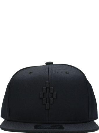 Marcelo Burlon Starter Cruz Black Cotton Cap